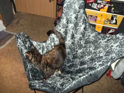 How to make a chair. Chair Cover - Step 7