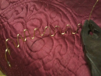 How to make a wire bracelet. Musical  Bracelet From Wires - Step 5