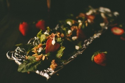 How to create lighting for photography. Food Photography Tutorial: Moody Lighting - Step 4