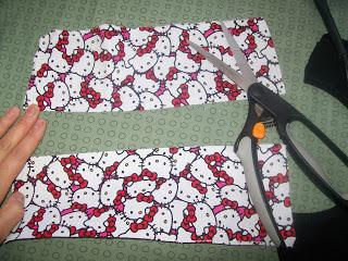 How to sew a t-shirt dress. Tutorial: 99 Cent Store T Shirt + 1/2 Yard Of Fabric = Dress  - Step 13