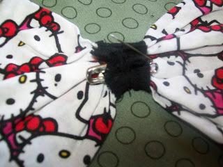 How to sew a t-shirt dress. Tutorial: 99 Cent Store T Shirt + 1/2 Yard Of Fabric = Dress  - Step 27