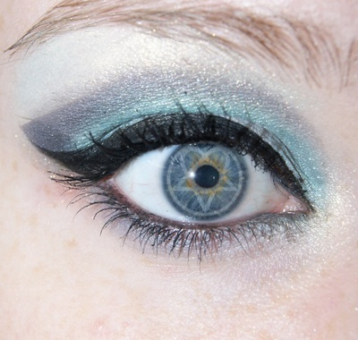 How to create a winged eye look. Dark Light   Him  Inspired Makeup Look - Step 9