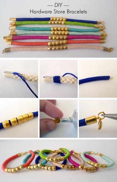 How to make a hardware bracelet. Diy Hardware Bracelets - Step 2