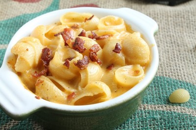 How to cook macaroni cheese. Hard Apple Cider Mac And Cheese (With Bacon!)  - Step 8