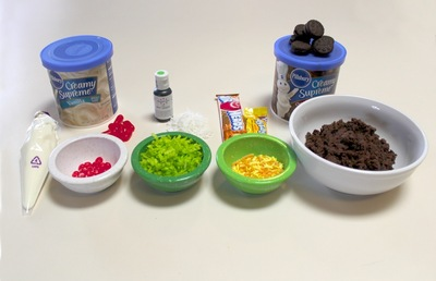 How to make decorative cookies. Taco Cookies - Step 2