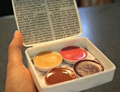 How to make a lip gloss. Make A Lip Palette - Step 18