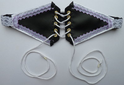 How to make a corset belt. Corset Belt - Step 7