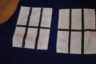 How to make an apron / toolbelt. Tardis Apron - Step 5