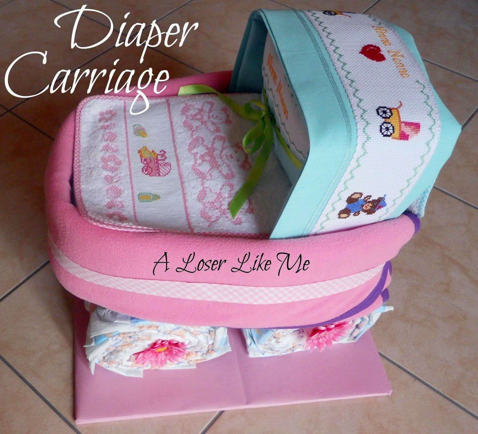 Supercute diaper carriage a diaper cakes other on cut out keep baditri Gallery