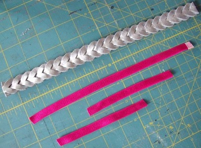 How to make a recycled hair clip. Spring Bling - Step 5