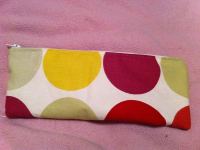 How to make a pouch, purse or wallet. Pencil Case - Step 5