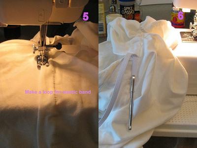 How to make a kimono. Kimono Top - Step 5
