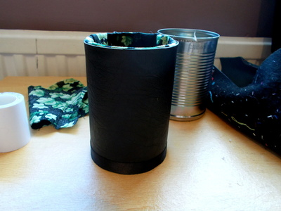 How to make a pot. Pen Pot - Step 6