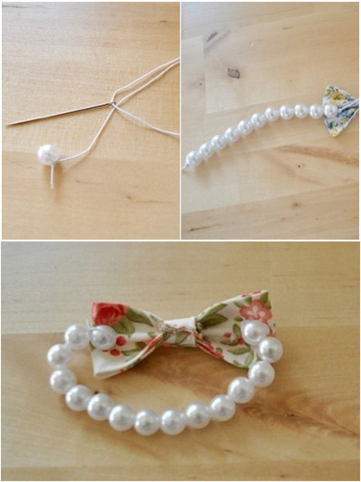 How to make a bow bracelet. Mother S Day Jewelry Gifts  Bow Bracelet Diy  - Step 2