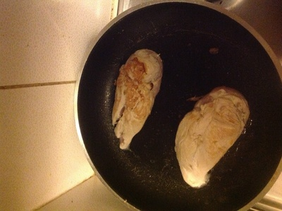 How to cook a chicken dish. Lemon, Thyme And Feta Stuffed Chicken Breast - Step 4