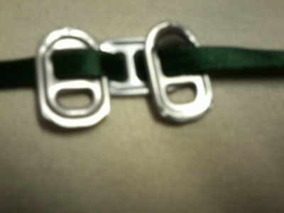 How to make a pop tab bracelet. Bracelets From Soda Can Tabs - Step 9