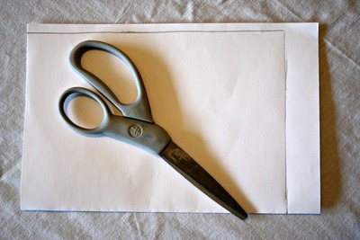 How to make a recycled book. Magazine Cover Notebook - Step 7