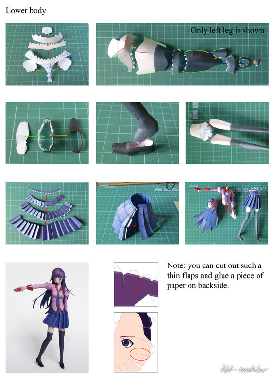 how to make papercraft models