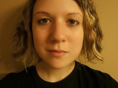 How to create an animal print eye makeup look. Emilie Autumn Makeup - Step 1