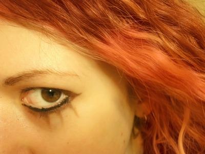 How to create an animal print eye makeup look. Emilie Autumn Makeup - Step 5