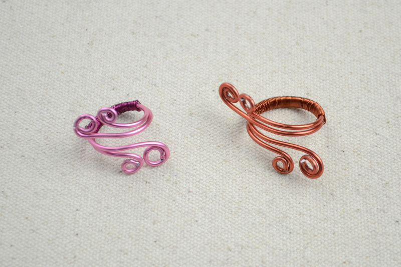 Wire Ring Diy To Create Mothers Ring With A Pair Of Angle Wings ...
