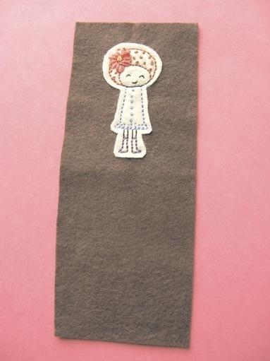 How to stitch an applique pouch. Gizmo Cozy - Step 6
