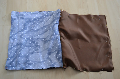 How to make a leather clutch. Foldable Leather Polka Dot Clutch - Step 4