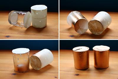 How to make a glass. Polka Dot Glasses - Step 5
