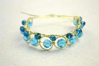 How to make a wire bracelet. Wire Bracelets Diy A Personalized Jewelry For Mothers  - Step 7