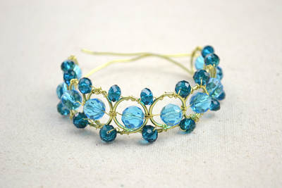 How to make a wire bracelet. Wire Bracelets Diy A Personalized Jewelry For Mothers  - Step 9