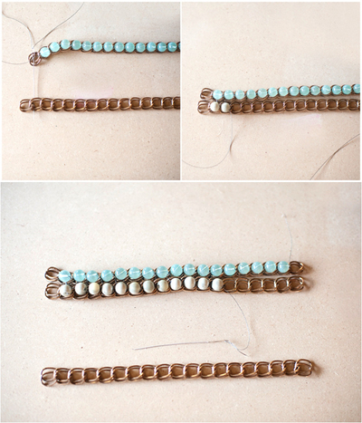 How to make a bracelet. Mothers Day Gifts Jewelry A Birthstone Bracelet For Mom  - Step 4