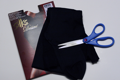 How to make a recycled top. Diy Sheer (Pantyhose) Top - Step 1