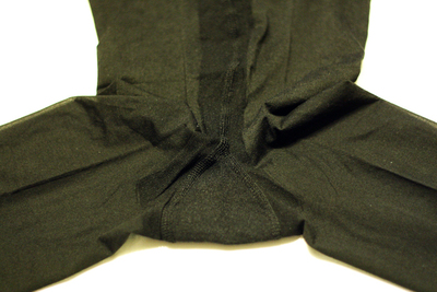 How to make a recycled top. Diy Sheer (Pantyhose) Top - Step 3