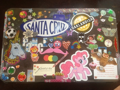 How to make a laptop case. Laptop Cover Of All Of My Favorite Things - Step 3