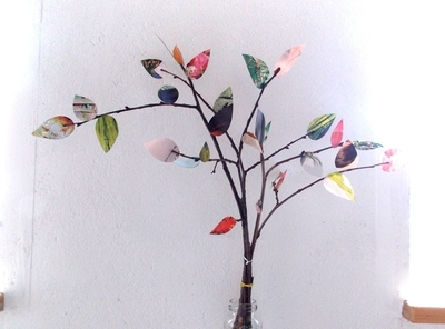 How to make a twig ornament. Twigs - Step 4