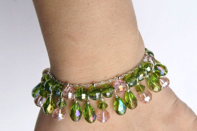How to make a beaded charm bracelet. Bracelets With Charms For Women  - Step 5