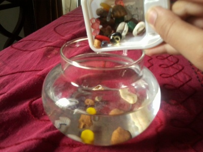 How to create art / a model. Diy: Fish Bowl You Never Need To Care For - Step 4