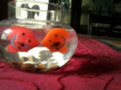 How to create art / a model. Diy: Fish Bowl You Never Need To Care For - Step 7