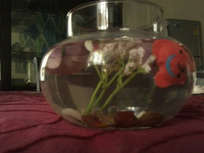 How to create art / a model. Diy: Fish Bowl You Never Need To Care For - Step 9