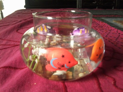 How to create art / a model. Diy: Fish Bowl You Never Need To Care For - Step 10
