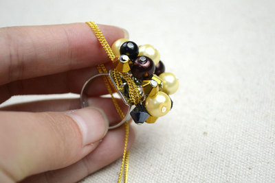 How to make a cluster ring. Cheap Diy Crafts How To Make Birthstone Rings - Step 7