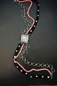 Small mixed bracelet watch bands cool bracelet patterns with beads step4 1