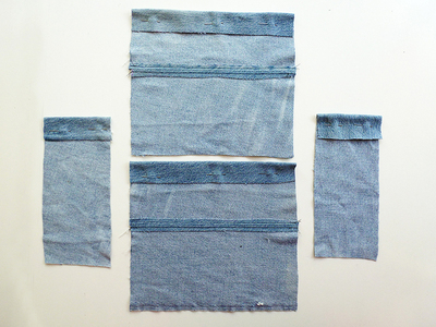 How to make a recycled top. Diy Crop Top   Recycling Old Jeans Legs - Step 6