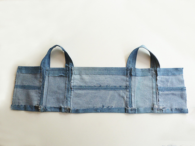 How to make a recycled top. Diy Crop Top   Recycling Old Jeans Legs - Step 9