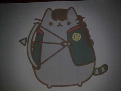 How to make a cat plushie. Katniss Pusheen - Step 1