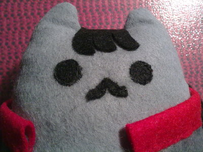 How to make a cat plushie. Katniss Pusheen - Step 11