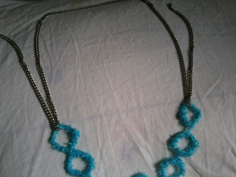 Diy Necklaces For Turtle Neck Tops From Yarn Thread 183 How