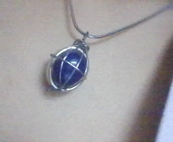 How to make a wire wrapped pendant. Stone Cage Pendent - Step 8