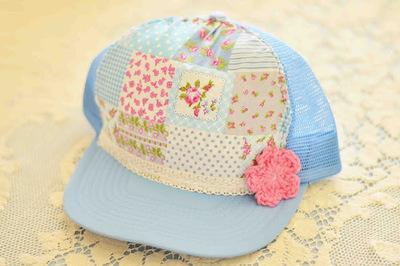 How to make a baseball cap. Trucker Hat Redo - Step 2