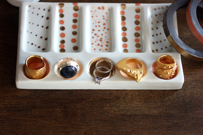 How to make a drawer organizer. Candy Colored Diy Jewelry Display  - Step 3